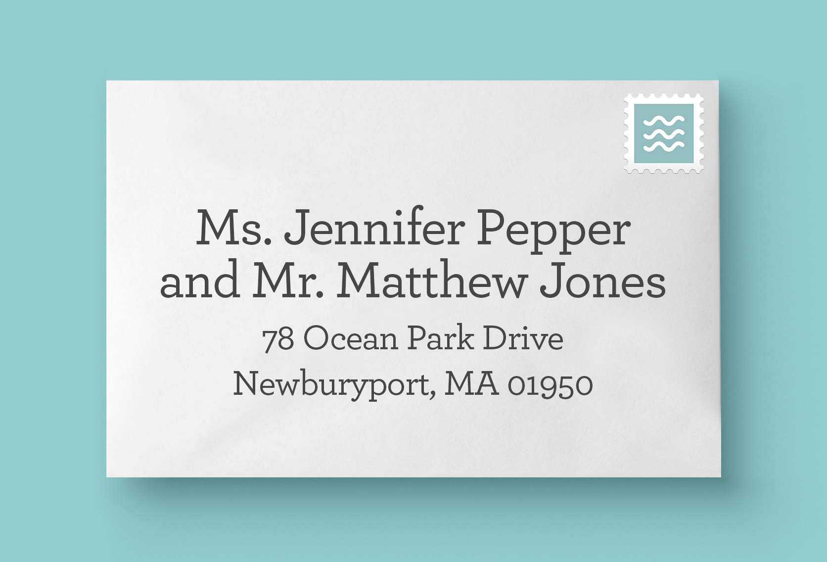 Married-different-names-envelope-address
