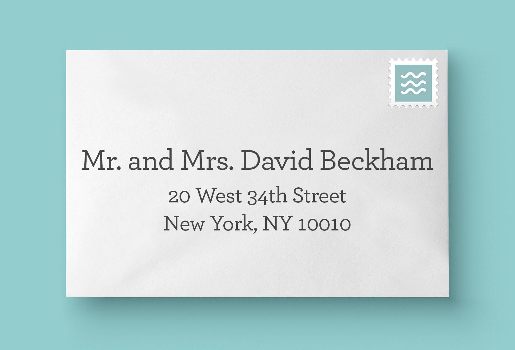 Married-same-name-envelope-address