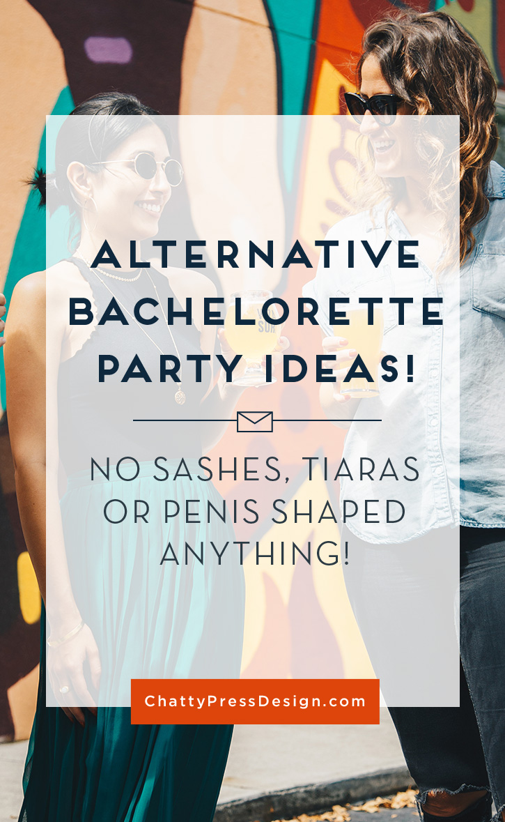 alternative bachelorette party ideas. Celebrate in your own unique way without the drama