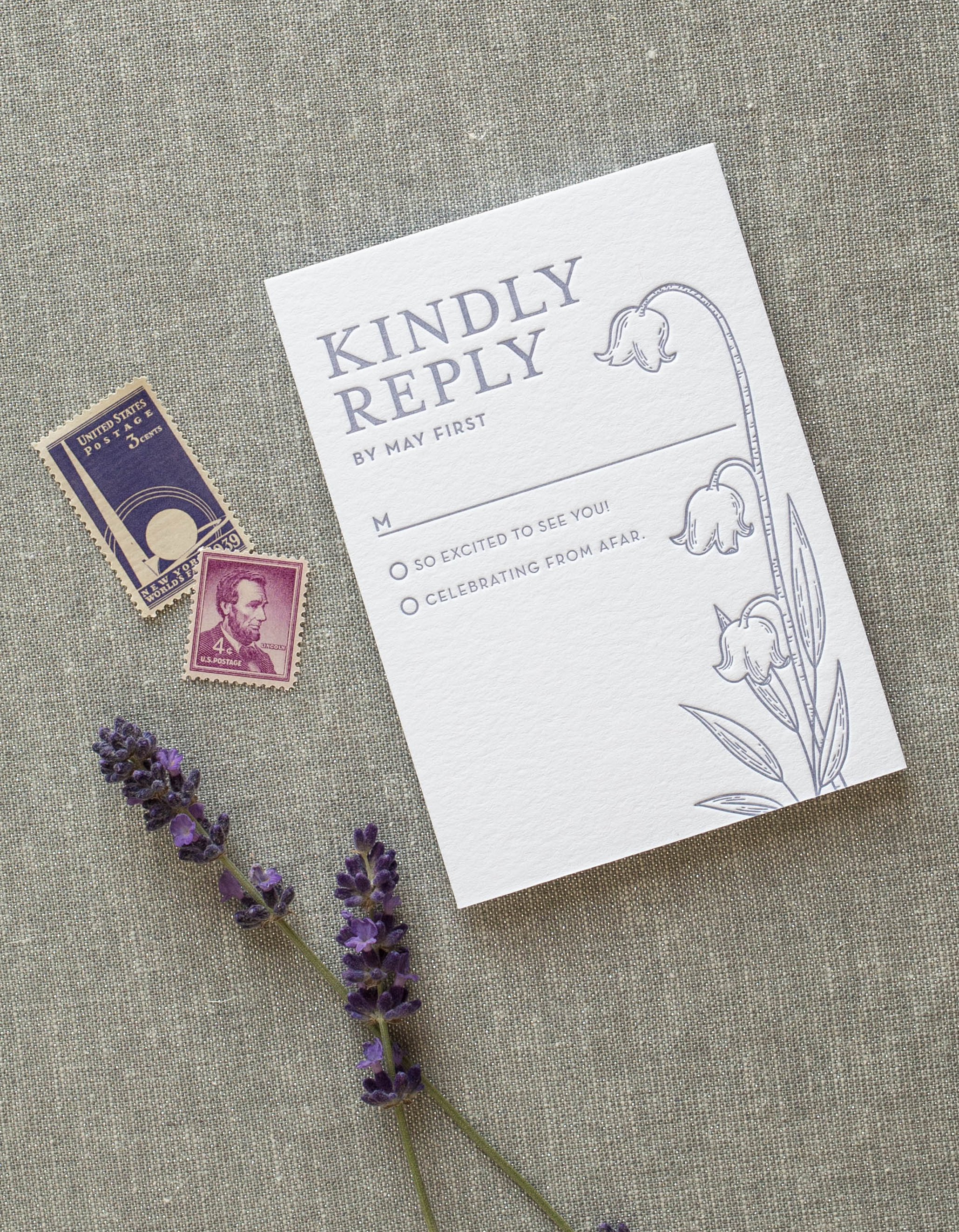 modern unique cool wedding invitations, custom designed and letterpress printed, inspired by flowers and nature, romantic