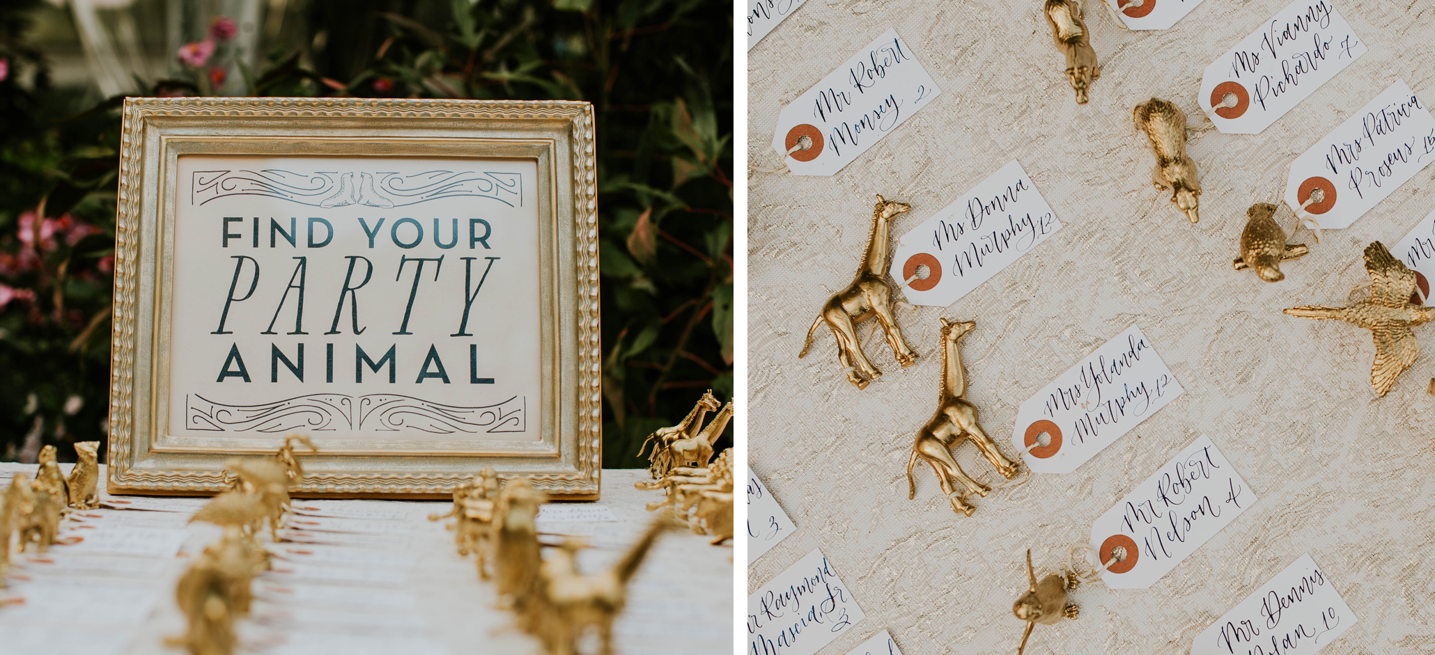 custom escort cards, luxury wedding, nyc Central Park, with calligraphy